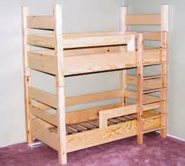 Bunk Bed With Crib A Toddler Bunk Bed Uses Crib Mattresses This Idea For A Small Room Shared By
