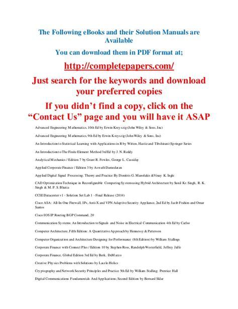 Computer Security Fundamentals 3rd Editon Ebook E Book e books and their solution manuals