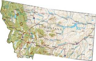 State Of Montana Map by Pics Photos Map Of Montana State