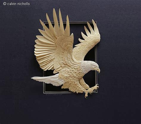 3d Origami Eagle - masters of paper and paper sculptures part ii hongkiat