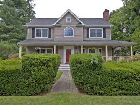 colonial farmhouse with wrap around porch wow house syosset colonial with wrap around porch