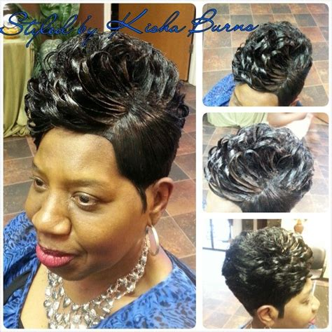 pin on weaved hair styles