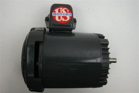 Emerson Electric Motors by Emerson Electric Motor 1 2 Hp 208 230 460v F046 U12s2acr