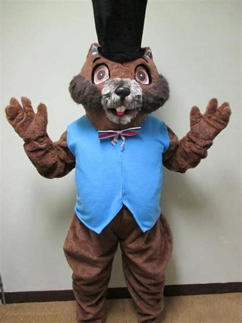 groundhog day costume wisconsin town gets new groundhog just in time for