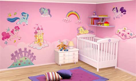 stickers chambre enfant chambre b 233 b 233 les mini licornes leostickers