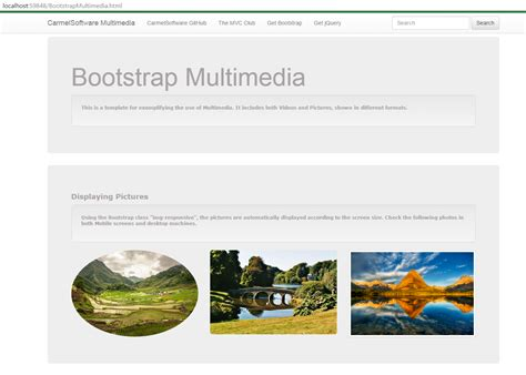 bootstrap tutorial for responsive website the asp net mvc club bootstrap tutorial lesson 9