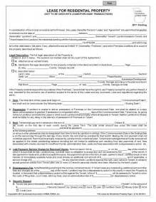 On Lease Free Residential Lease Agreement Pdf Template