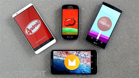 android lollipop vs android kitkat new features kitkat vs android marshmallow comparison which version is