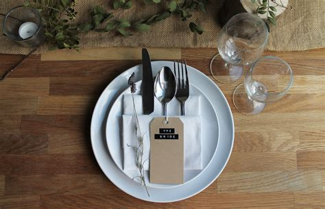 Place Setting Ideas | 5 rustic place setting ideas the little lending company