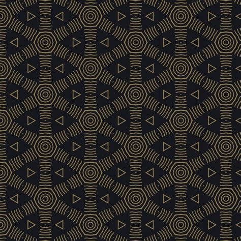 pattern geometric elegant elegant dark pattern with geometric shapes vector free