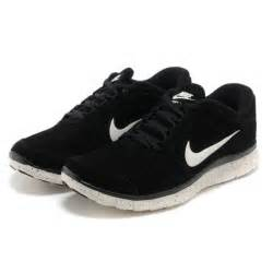 black nike shoes for nike free run 5 black white