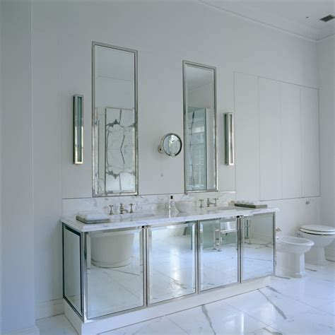 gray mirrored vanity with statuary marble top rodono house master bathroom mirrored vanity unit with