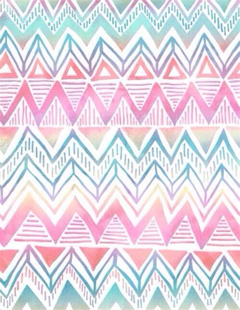 ethnic pattern tumblr rainbow aztec wallpaper wallpapers lock screens
