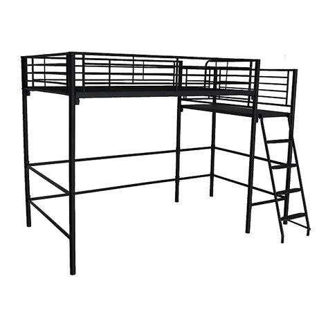 lit mezzanine noir avec bureau alexy lit mezzanine places noir avec plateforme xcm with