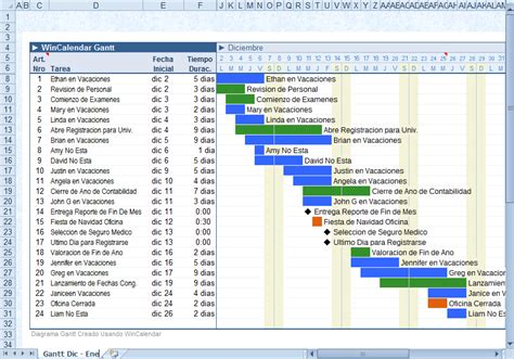 criar um grafico de gantt  excel  dados de um calendario