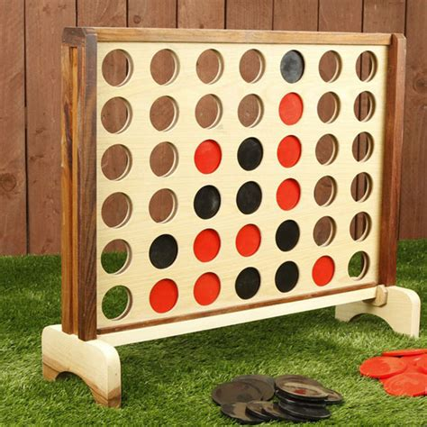 backyard connect four connect four diy foot games game face and game rooms