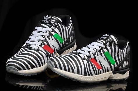 Zebra Pattern Adidas | original online mens womens adidas originals zx flux