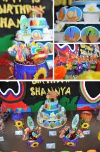Minecraft Tiki Hut Kara S Party Ideas Hawaiian Themed Birthday Party