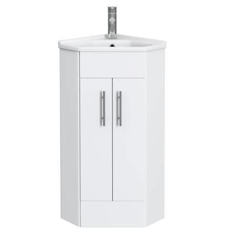 white high gloss bathroom cabinet freestanding unit alaska high gloss white corner cabinet vanity unit with