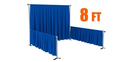 pipe and drape supplies yidisplay supplies adjustable backdrop frequently used