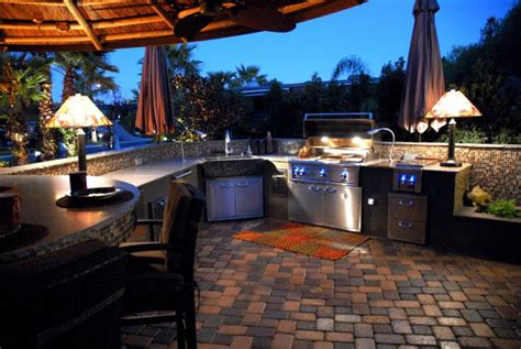 planning an outdoor kitchen red square pools 702 530 7331