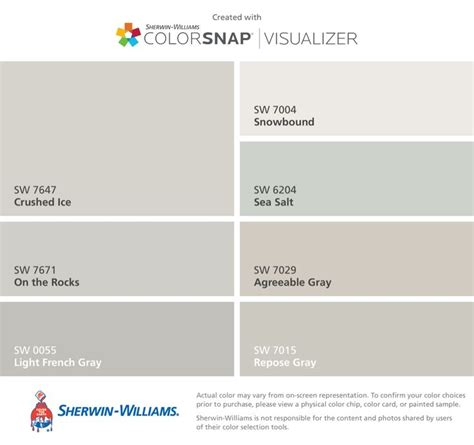 colors  colorsnap visualizer  iphone  sherwin williams crushed ice sw