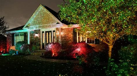 christmas lights that look like star shower laser light christmas laser lights it looks