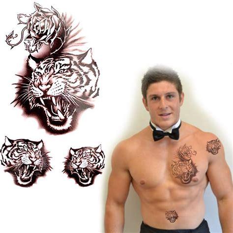 compra cabeza del tigre del tatuaje online al por mayor de