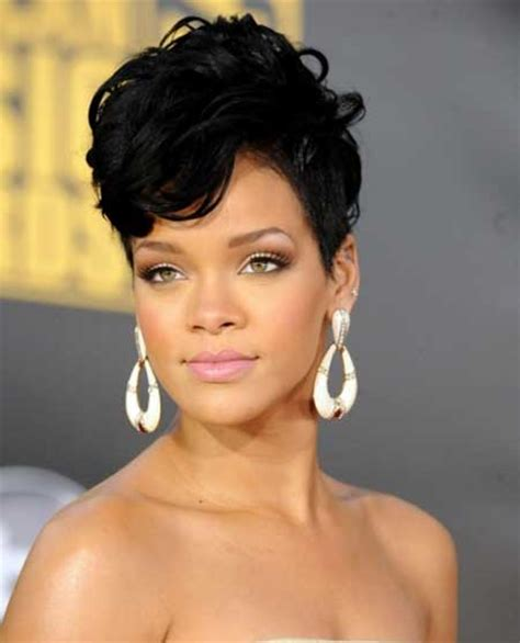 rihanna hairstyles cut celebrity short haircuts 2013 short hairstyles 2017