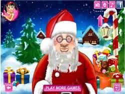 haircut games santa makeover make up games dollmania com