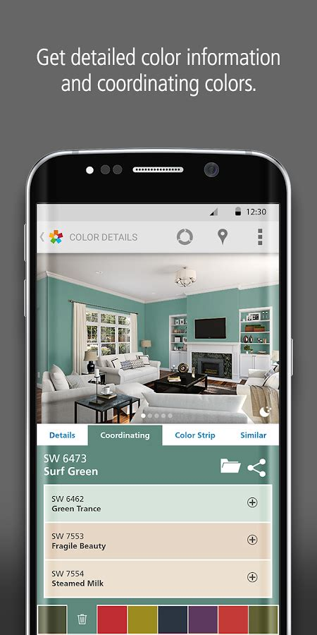 sherwin williams paint store application colorsnap 174 visualizer android apps on play