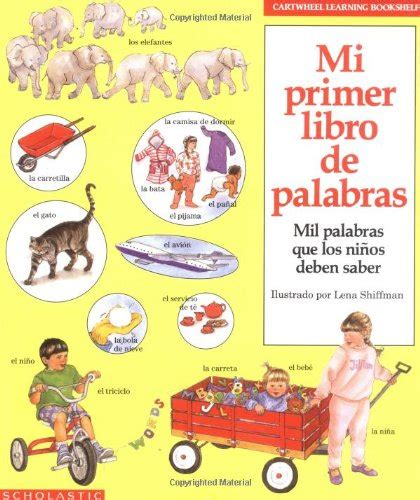 libro learn spanish words librarika mi primer libro de palabras mil palabras que los ni 241 os deben saber my first book of