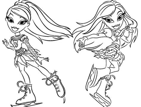 bratz coloring book bratz coloring book coloring home