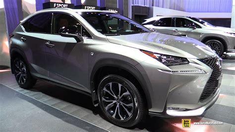 lexus nx 200t interior 2017 lexus nx 200t f sport exterior and interior