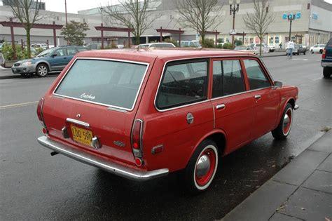 parked cars 1972 datsun 510 wagon