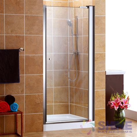 pivot frameless shower door semi frameless pivot shower door w o handle shine