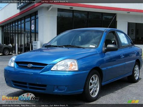 Kia 2004 Sedan 2004 Kia Sedan Rally Blue Gray Photo 1 Dealerrevs