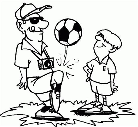 football coach coloring page coach coloring page