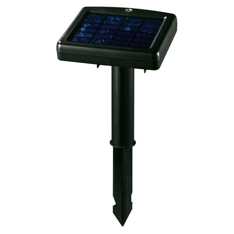 hton bay led solar pathway lights black solar powered led garden black solar power powered