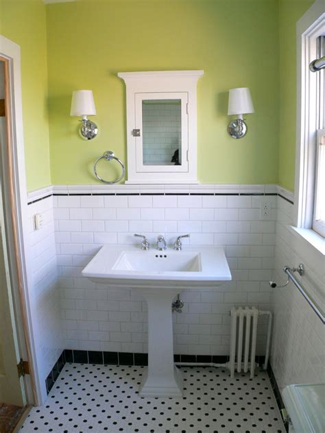 black and white bathroom tiles in a small bathroom bathroom remodel on hex tile tile and subway
