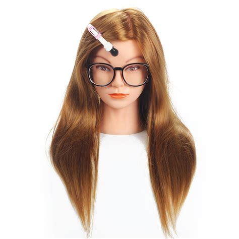 hair mannequin aliexpress buy 20 quot mannequin hair synthetic