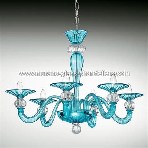 kronleuchter hellblau quot ermione quot murano glas kronleuchter murano glass chandeliers