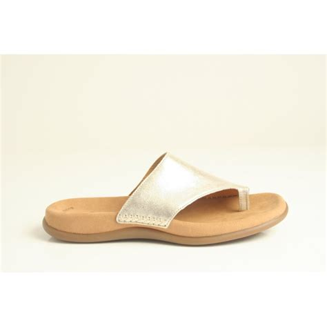gabor sandals gabor gabor sandal style quot lanzarote quot with toe post and