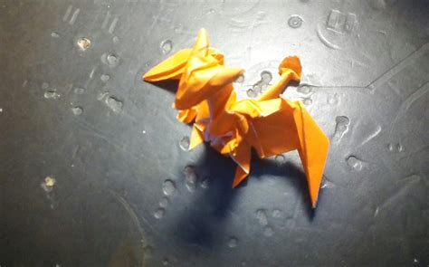 Origami Charizard - origami charizard by cmwacker99 on deviantart