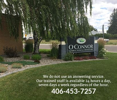 o connor funeral home great falls mt