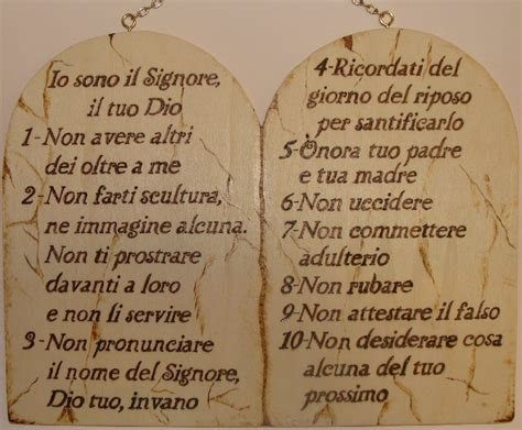 tavole dei 10 comandamenti 10 comandamenti le regole di dio per vivere cristiani
