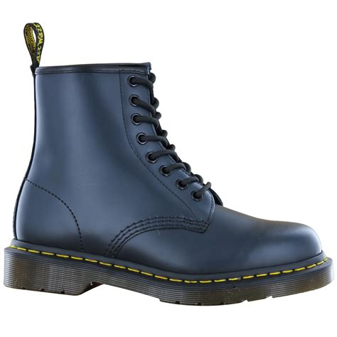 dr martens 1460z blue leather womens boots 11822411 ebay