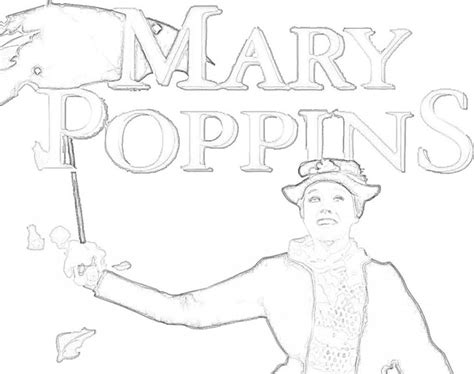 mary poppins disney coloring pages pinterest mary