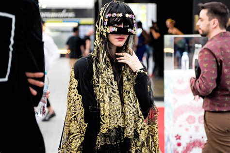 the best fashion at the vogue picks the best street style at fashion forward dubai