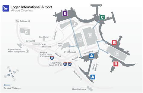 logan airport map boston logan airport world airline news